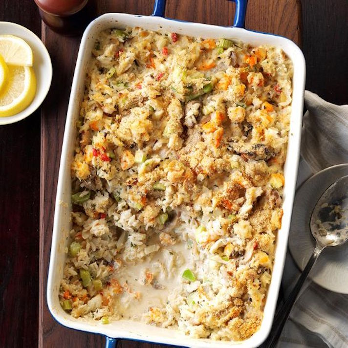 13 Make-Ahead Freezer Meals for Nights When You Just Can't: Seafood Casserole