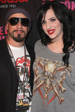 AJ McLean and wife Rochelle expecting a baby