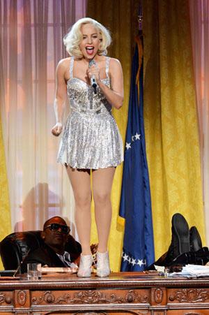 Lady Gaga at the American Music Awards