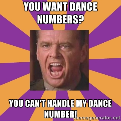 A Few Good Dance Numbers