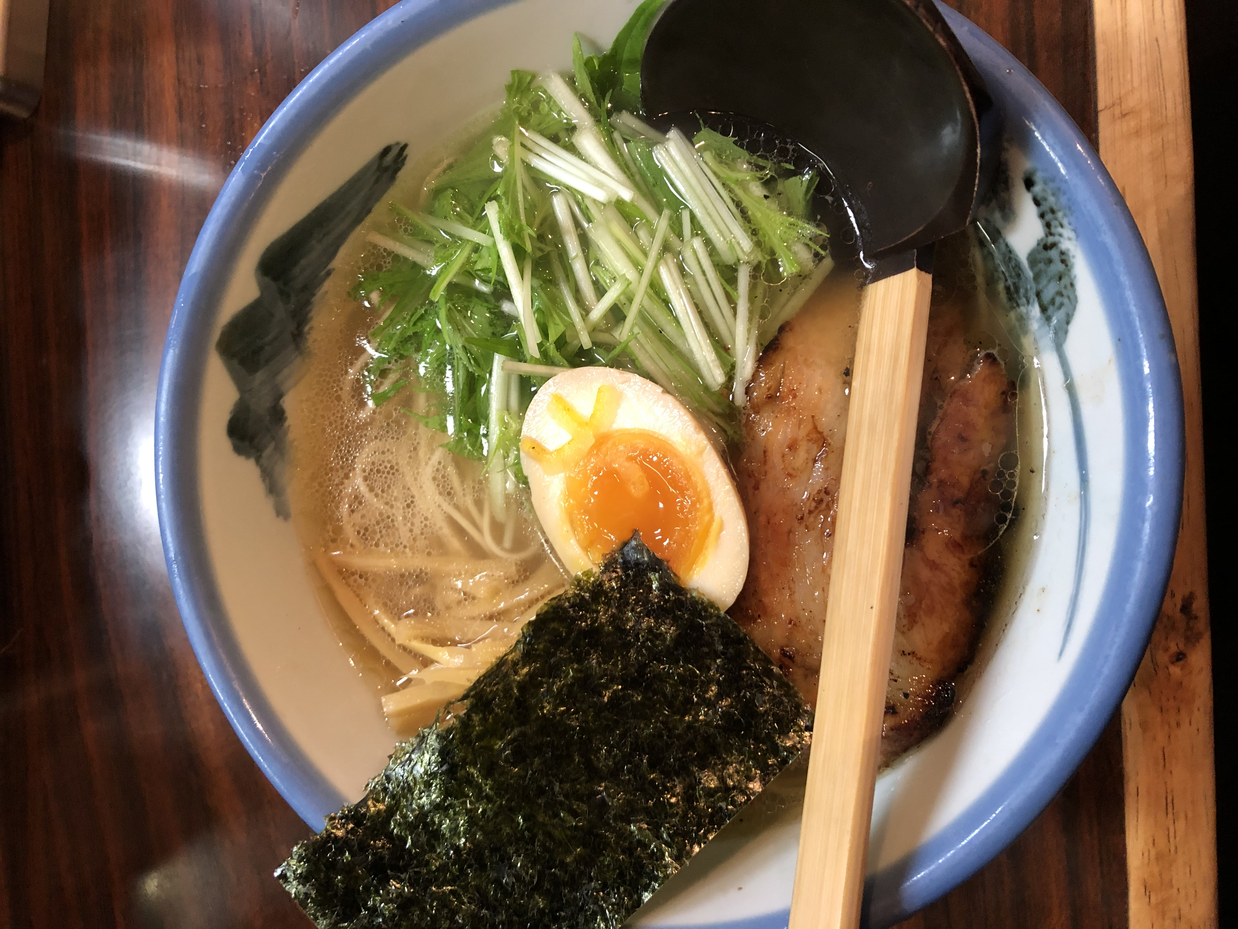 Yuzu Shio Ramen at Afuri