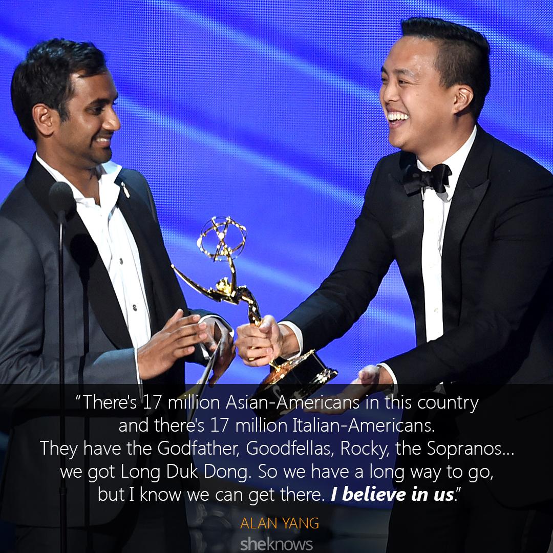 Alan Yang Emmys speech