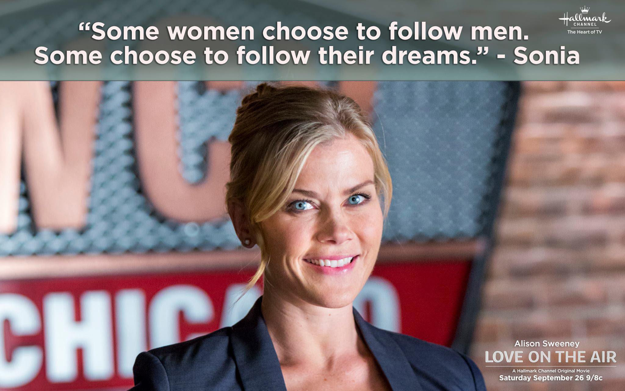 Alison Sweeney in 'Love Is in the Air'