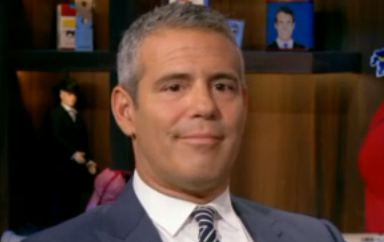 Andy Cohen face