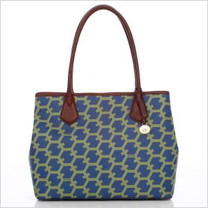 Hexagon anytime tote bag