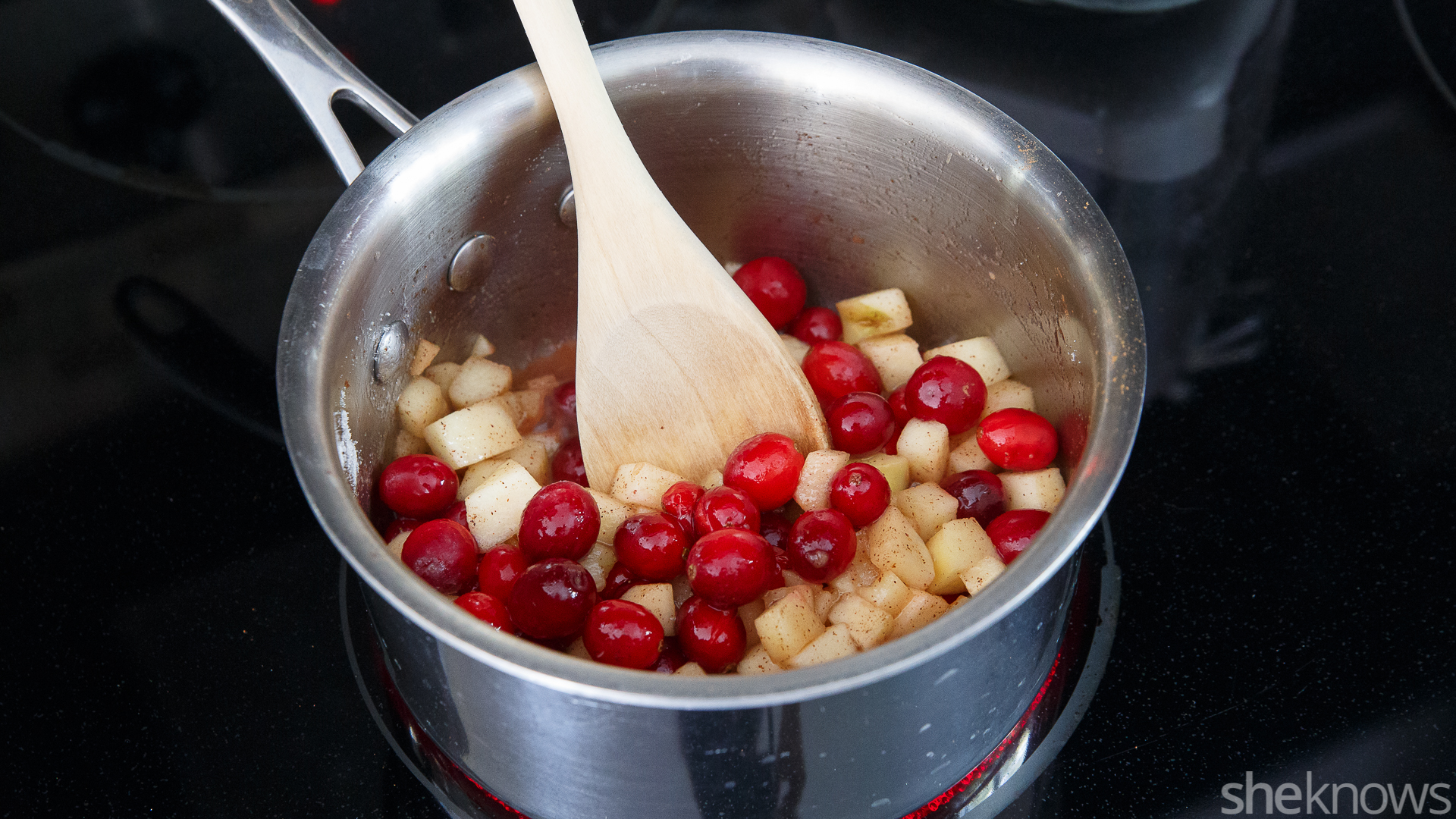 apple cranberry mixture