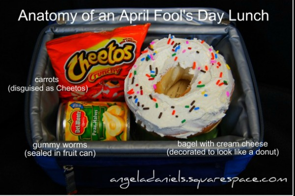 April Fool's Day lunch