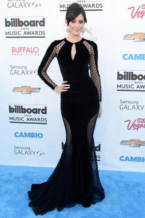 Emmy Rossum at the Billboard Music Awards