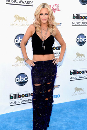 Jenny McCarthy at the 2013 Billboard Music Awards