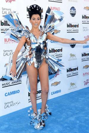 Z LaLa at the 2013 Billboard Music Awards