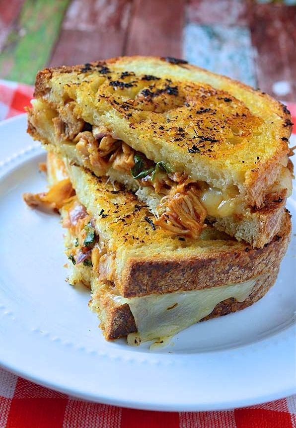 BBQ grilled cheese