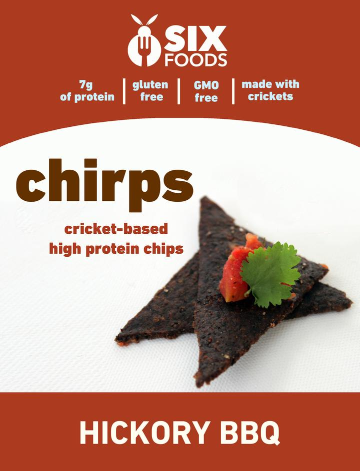 Cricket BBQ chips