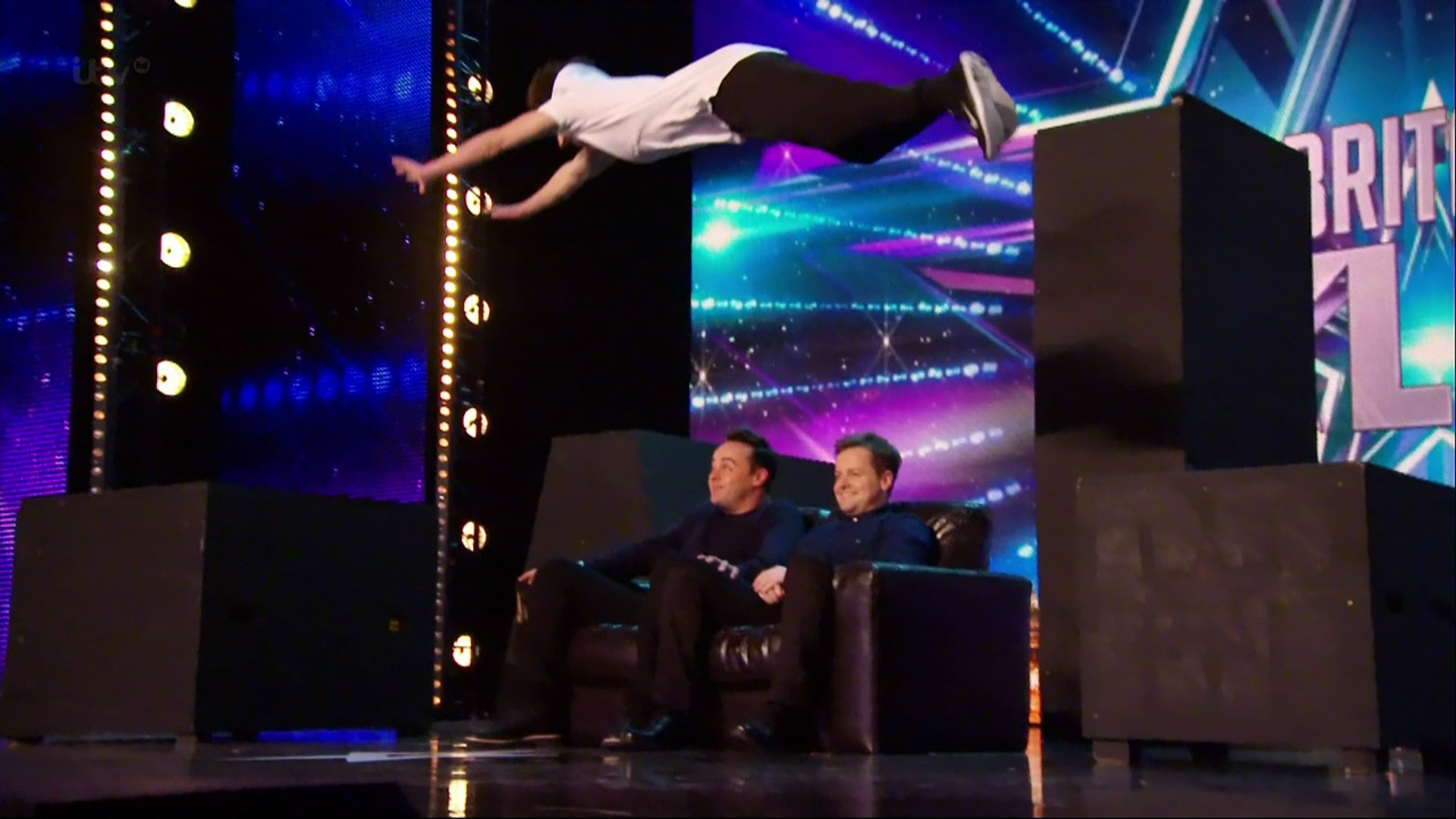 Britain's Got Talent freerunner Matt McCreary