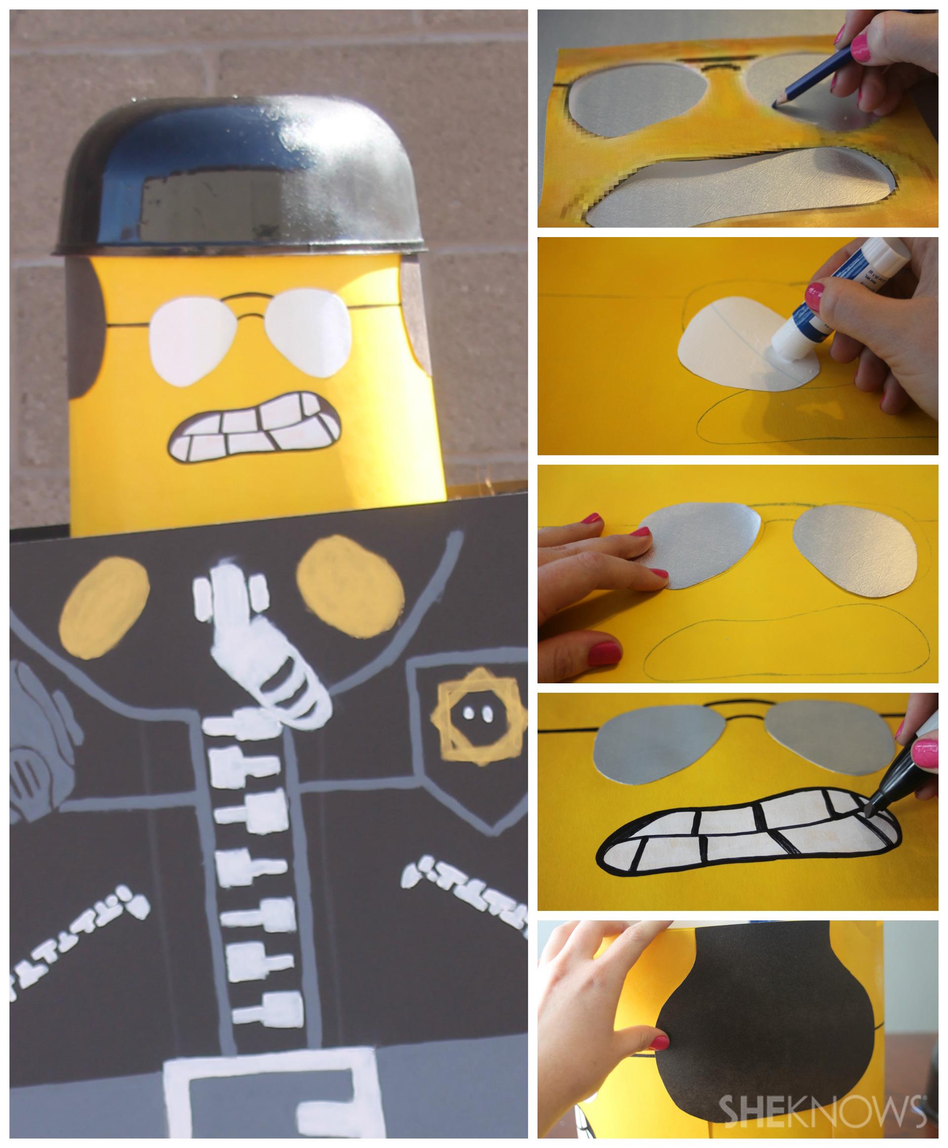 Step 3: Make the reversible head 2