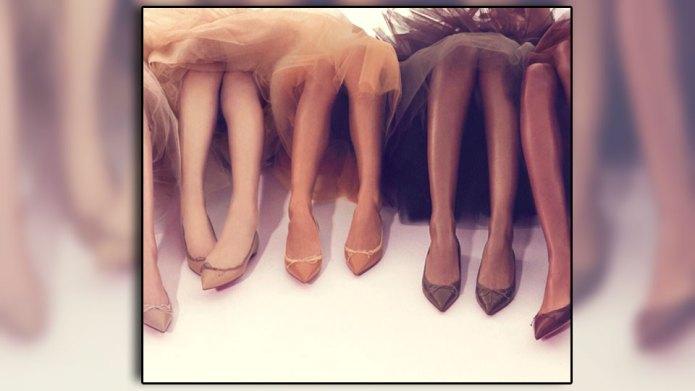 High-fashion footwear finally realises that 'nude'