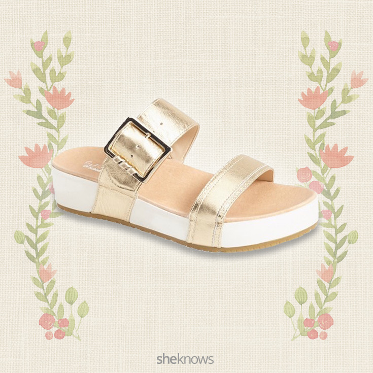 Dr. Scholl's Original Collection Frill slide sandal