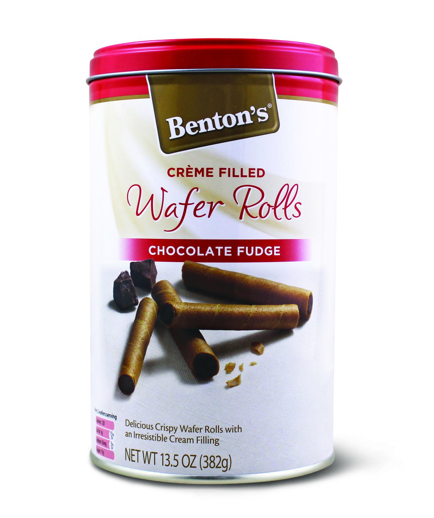 chocolate wafer rolls