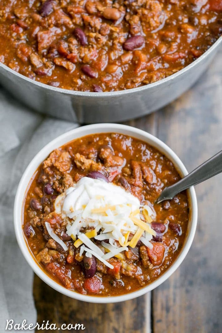 13 Make-Ahead Freezer Meals for Nights When You Just Can't: Beef Chili