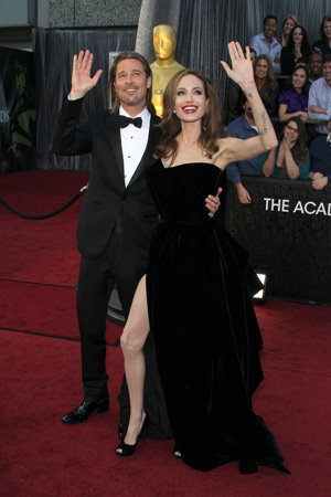 Oscars Best Dressed -- Angelina Jolie