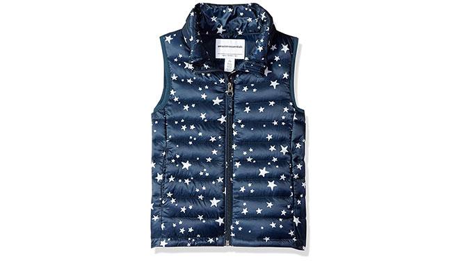 Amazon Essentials Puffer Vest - Best Kids' Winter Clothes