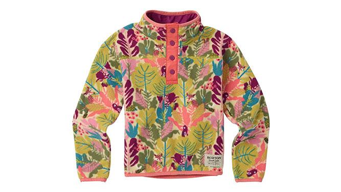 Burton Minishred Spark Anorak Fleece - Best Kids' Winter Clothes