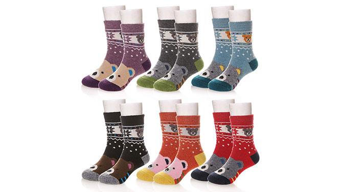 Eocom Wool Socks - Best Kids' Winter Clothes