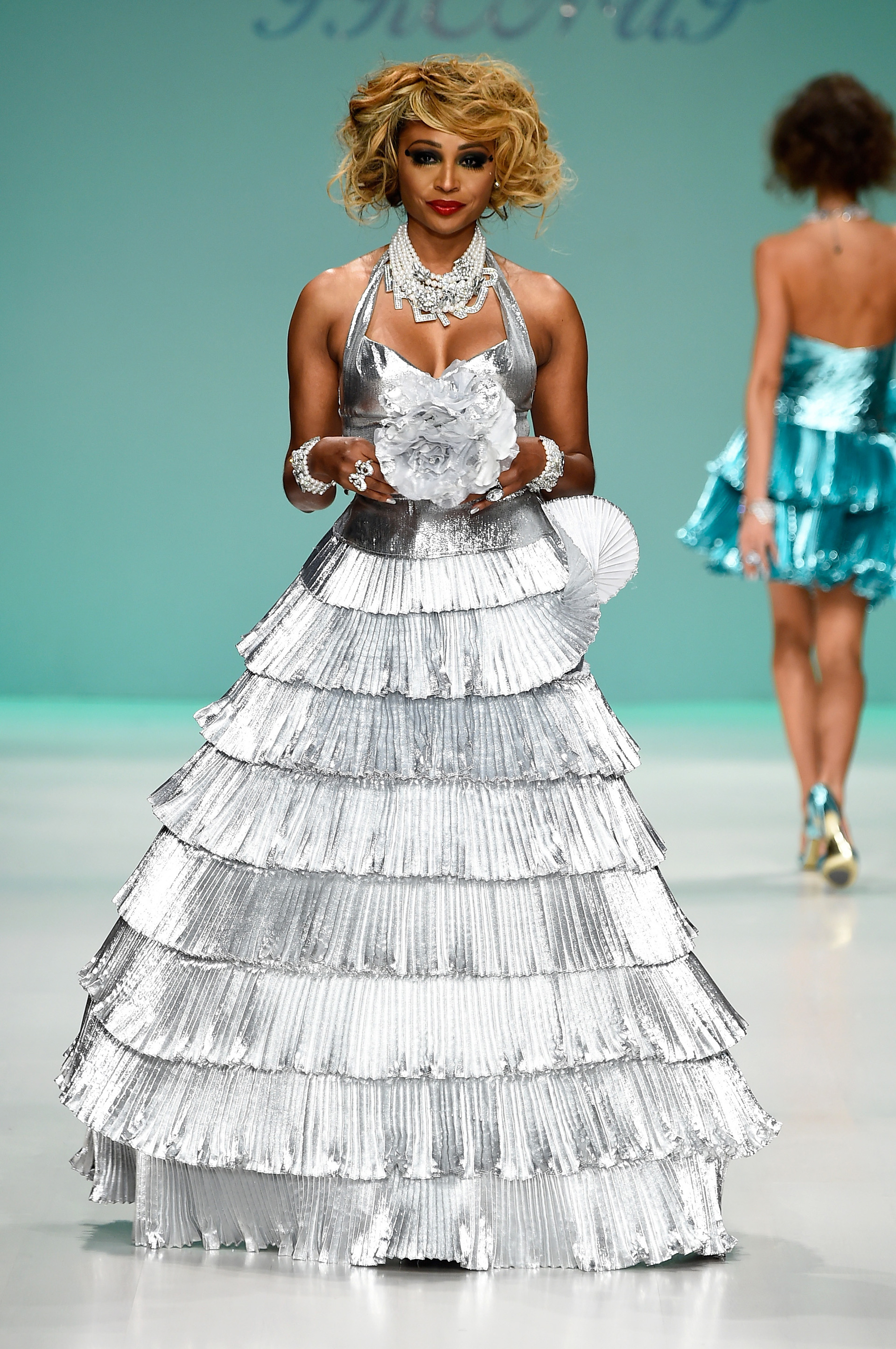 Betsey Johnson's spring 2015 collection 1