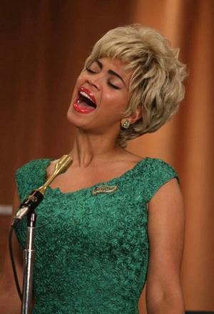 Beyonce belts out Etta James