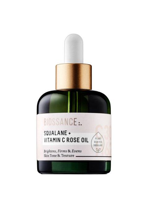 Squalane Oil is the Ultimate Multi-tasker | Biossance Squalane + Vitamin C Rose Oil