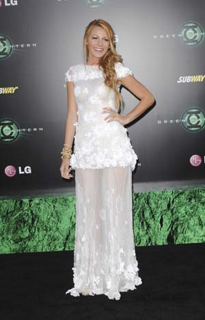 Blake Lively in Haute Chanel at the Green Lantern premiere