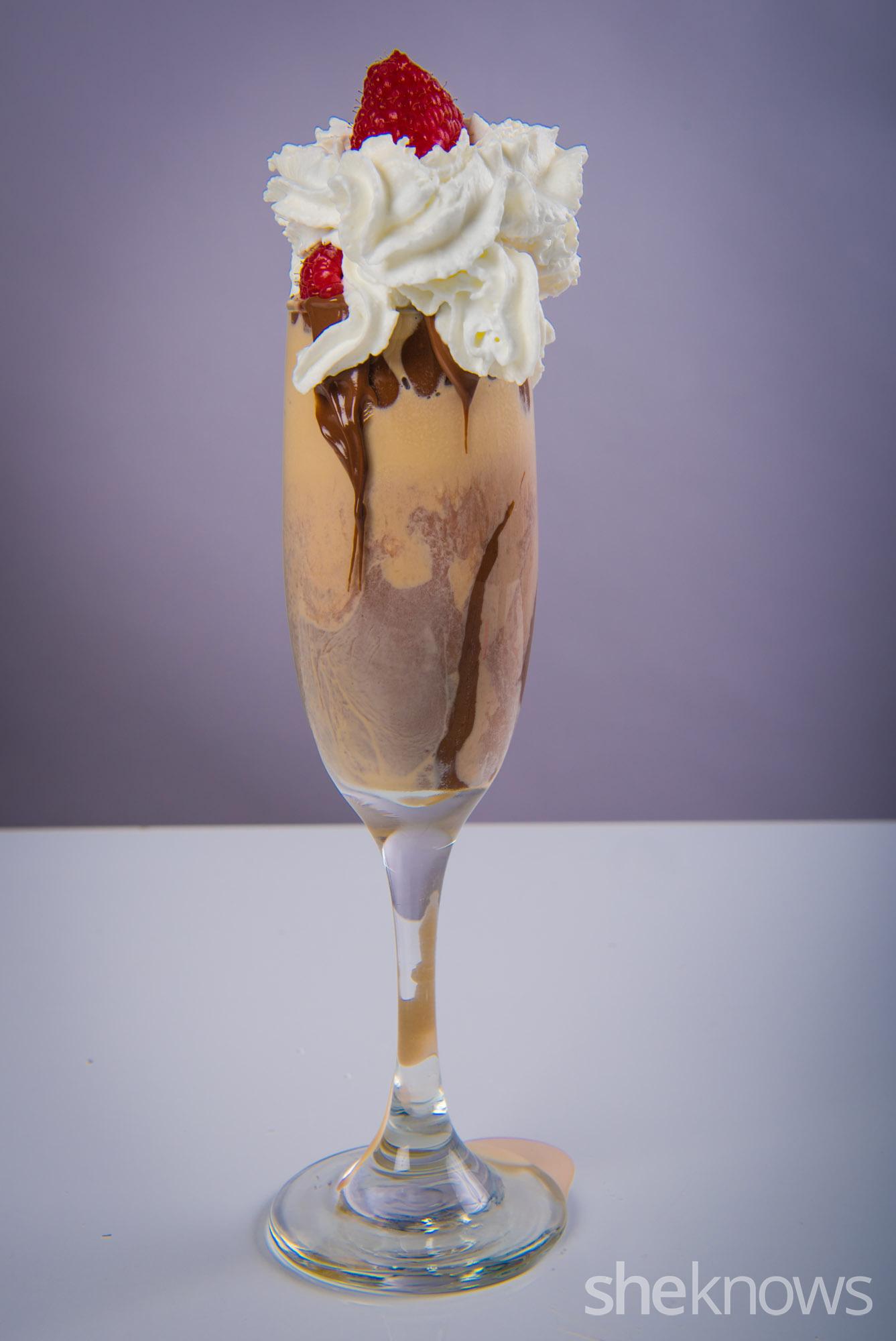 white russian sundae