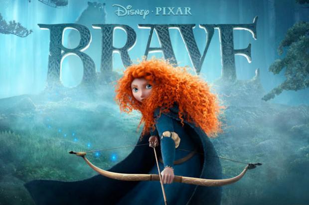 Brave animated film