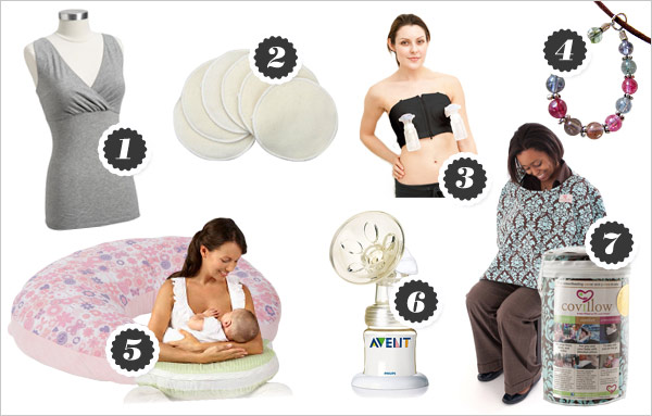 Breastfeeding products moms love
