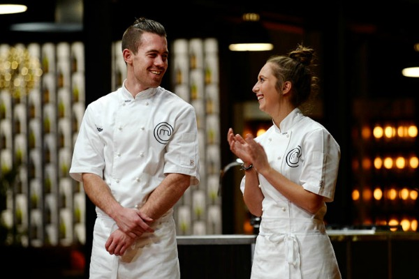 Laura and Brent go head to head in MasterChef final
