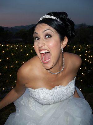 Bridezill in the house...run!