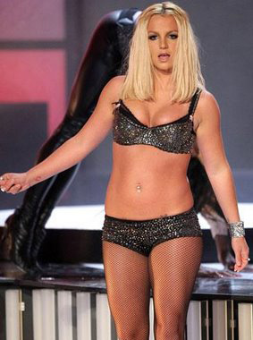 Britney Spears At The 2007 MTV VMAs