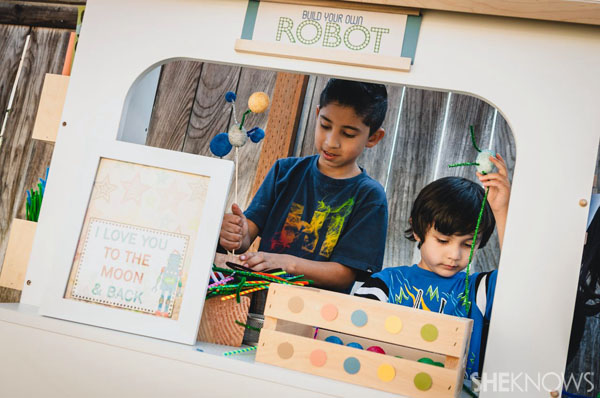 Build your own robot stand