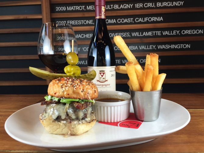 Umami rich burger in Seattle