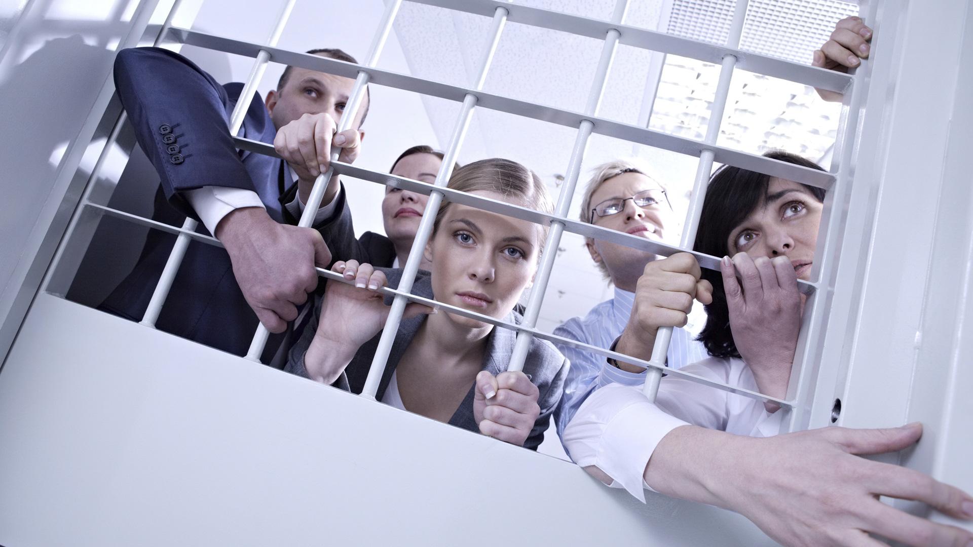 Workplace jail