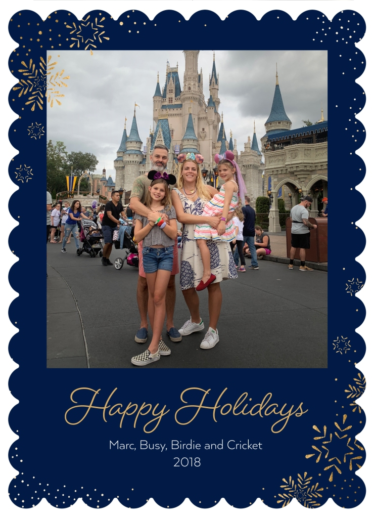 Busy Philipps Family Holiday Card