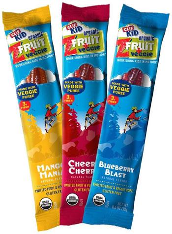 CLIF Kid Organic Fruit + Veggie Snacks
