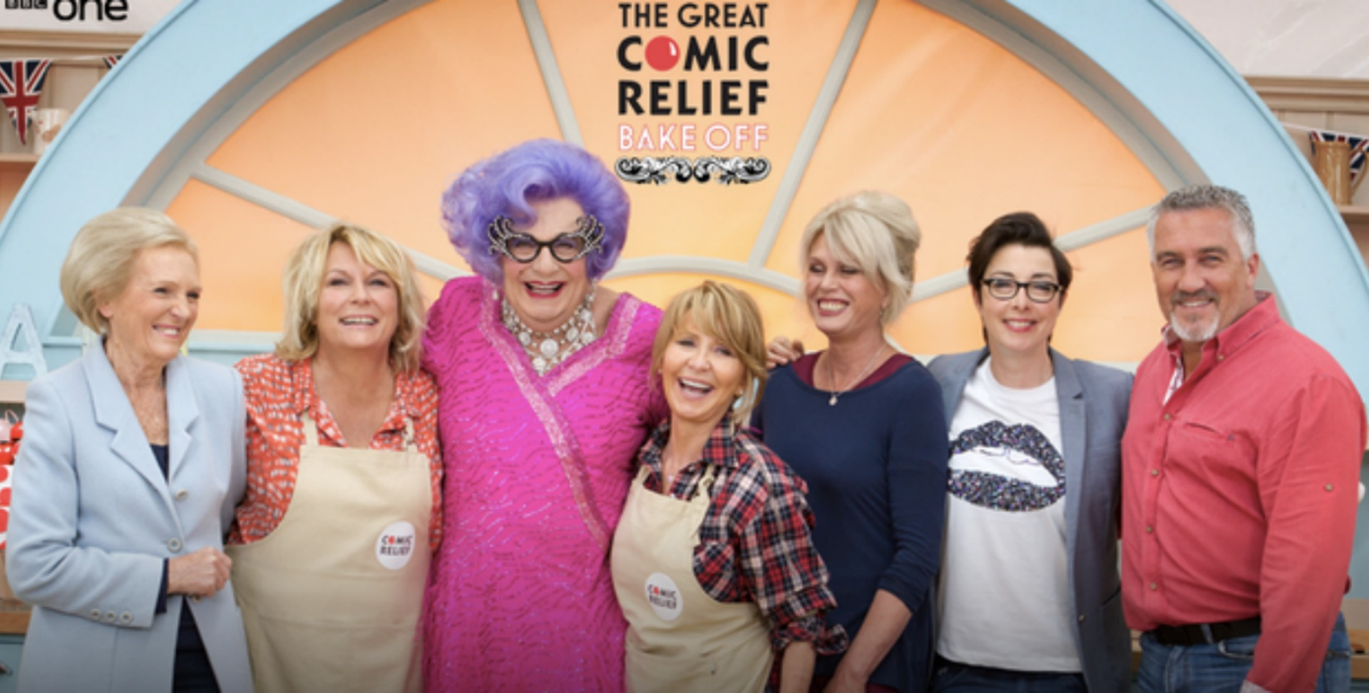 The Great Comic Relief Bake Off is giving us some really funny TV moments