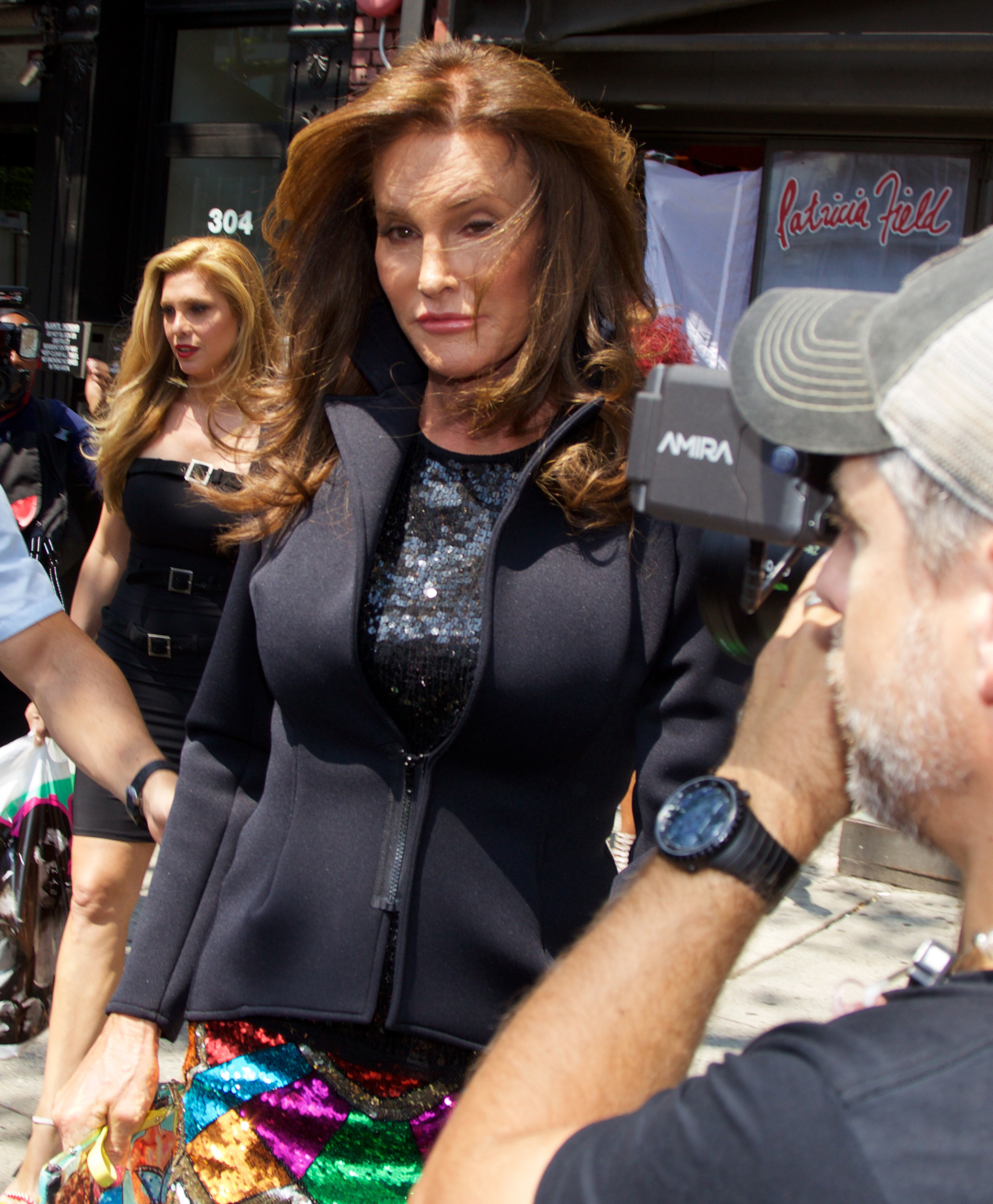 Caitlyn Jenner and Candis Canye