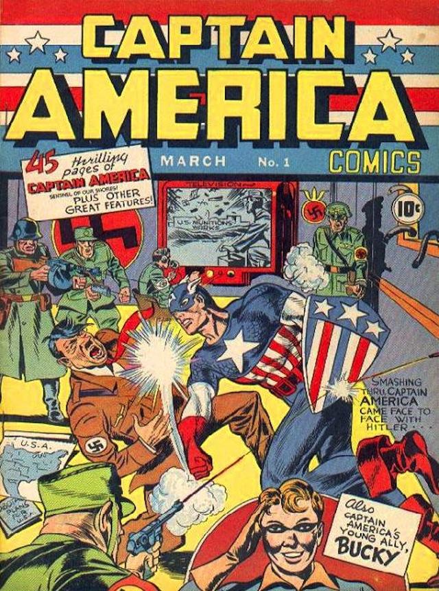 Captain America comic book