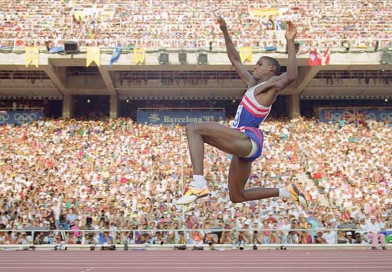 Carl Lewis, a man who could fly