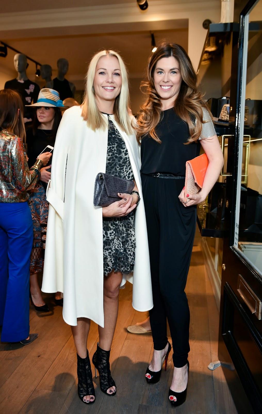 Caroline Fleming and Sophie Stanbury