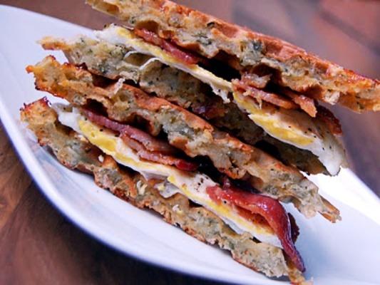 Savory Waffle Breakfast Sandwich