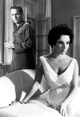 Newman and Elizabeth Taylor smoked in Hot Tin Roof