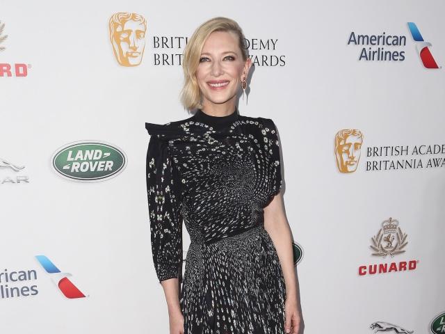Academy Award winner Cate Blanchett