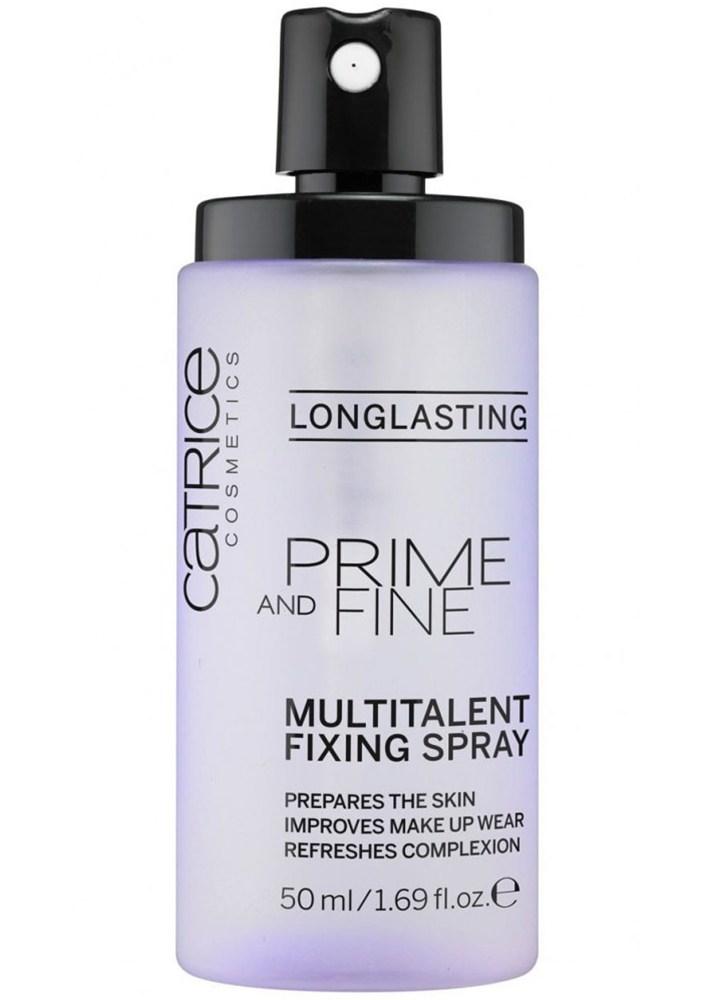 Best Makeup Priming Sprays For Non Oily Skin | Catrice Prime & Fine Multitalent Fixing Spray